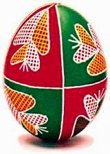 Traditional Pysanky from Kyivska Oblast