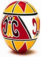 Traditional Pysanky from Odeska Oblast