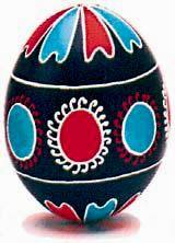 Traditional Pysanky from Poltavska Oblast